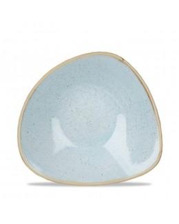 Miska trójkątna 0,26 l jasnoniebieski - CHURCHILL Stonecast Duck Egg