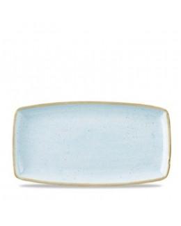 Półmisek 185 x 37 mm jasnoniebieski - CHURCHILL Stonecast Duck Egg