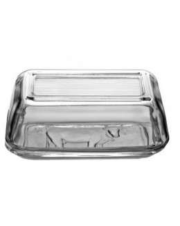 Maselnica szklana z wzorem 17 x 10,5 cm LUMINARC