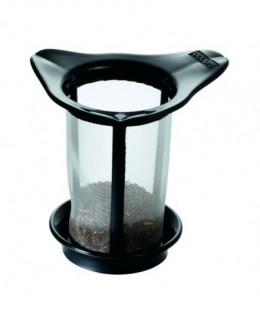 Zaparzacz do herbaty czarny Yo-Yo - BODUM