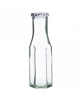 Butelka heksagonalna 250 ml Twist Top Bottles - KILNER