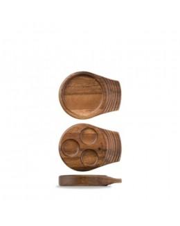 Okrągła deska akacjowa 180 mm - ART DE CUISINE Igneous