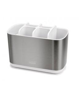 JJ - Pojemnik łazienkowy L, biały, EasyStore Steel