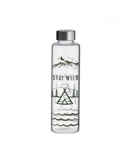 TYP - Butelka szklana 0,6 l Stay Wild, Pure