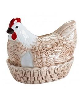 MC -Pojemnik Kura ceramiczna do przechowywania jaj