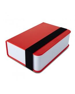 BB - Lunch box- książka, czerwona