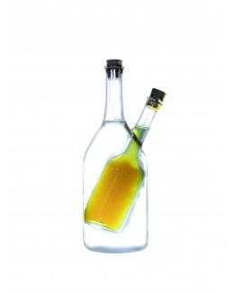 Butelka na ocet, olej, oliwę 200 ml