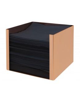 Pojemnik na serwetki miedziany 13 x 13 cm wys.10cm