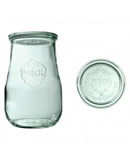 Słoik Tulpe 1750 ml z pokrywą - op. 4 szt