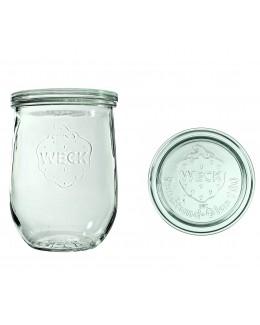 Słoik Tulpe 1062 ml z pokrywą - op. 6 szt