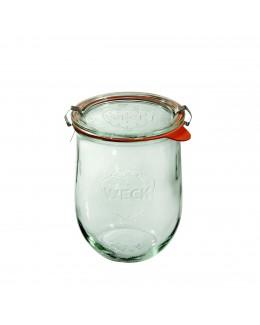 Słoik Tulpe 1062 ml (6 szt), pokrywka, uszczelka i zapięcia x 2