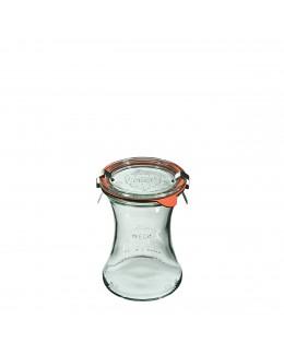Słoik Glas 370 ml (6 szt), pok, usz, zap x2