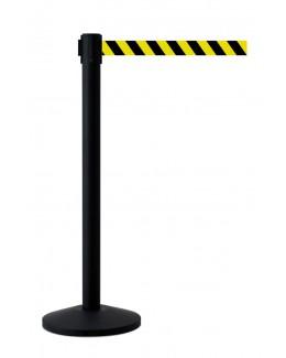 Słupek z taśmą ostrzegawczą 400 cm