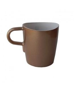 LO - Kubek do kawy, brązowy, Loop