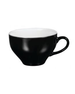 Filiżanka do cappucino 300 ml, biało - czarna ARIANE Amico Cafe