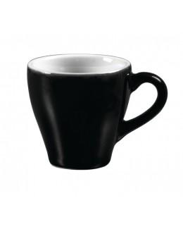 Filiżanka do espresso 70 ml, biało - czarna ARIANE Amico Cafe