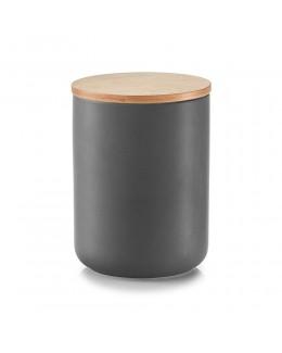 Pojemnik ceramiczny na przyprawy 1150 ml z bambusową zakrywką Zeller