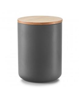 Pojemnik ceramiczny na przyprawy 1500 ml z bambusową zakrywką Zeller