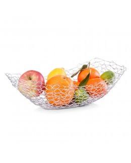 Metalowy kosz na owoce Zeller 38 x 20 cm