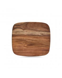 Deska z drewna akacjowego 28 x 25 cm Zeller