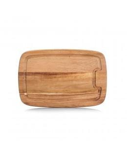 Deska z drewna akacjowego 32 x 21 cm Zeller