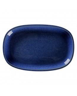 STONE Półmisek 22,5x15 cm kobaltowy