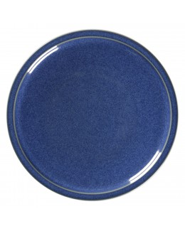 STONE Talerz płaski 16 cm kobaltowy