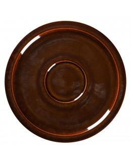 STONE Spodek 16,5 cm bursztynowy