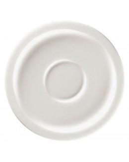 STONE Spodek do espresso 13 cm biały