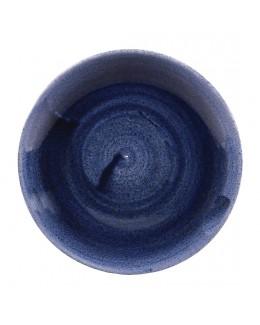 Talerz płaski 260 mm - Stonecast Patina Cobalt Blue