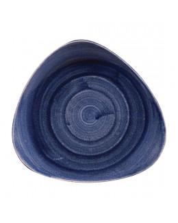 Talerz trójkątny 229 mm - Stonecast Patina Cobalt Blue