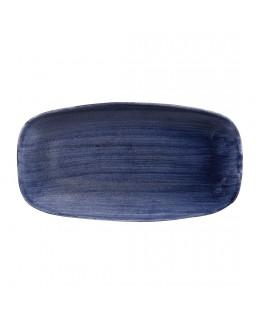 Półmisek 355 x 189 mm - Stonecast Patina Cobalt Blue