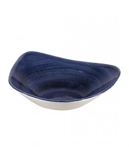 Miska trójkątna 600 ml - Stonecast Patina Cobalt Blue