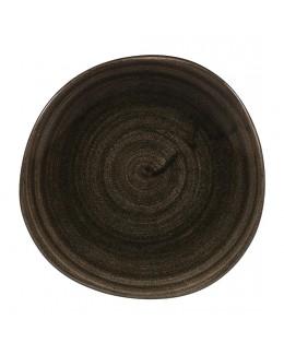 Talerz organic deserowy 186 mm - Stonecast Patina Iron Black