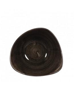Miska trójkątna 260 ml - Stonecast Patina Iron Black