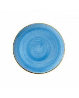 Talerz płytki 165 mm niebieski - CHURCHILL Stonecast Cornflower Blue
