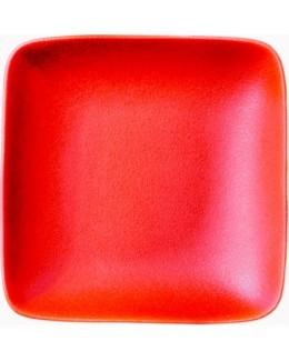 Talerz głęboki kwadratowy 210 mm czerwony - ARIANE Dazzle Red