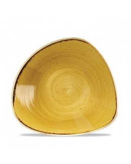 Misa trójkątna 0,37 l żółta - CHURCHILL Stonecast Mustard Seed
