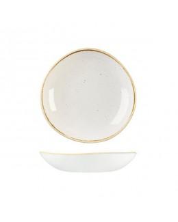 Miska Trace 1,1 l biała - CHURCHILL Stonecast Barley White