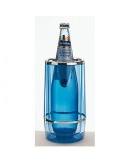 Termos na butelkę, niebieski