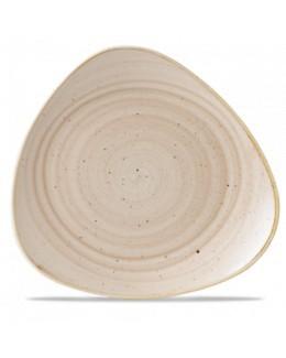 Talerz trójkątny 229 mm kremowy - CHURCHILL Stonecast Nutmeg Cream