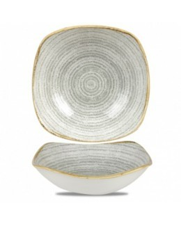 Miska kwadratowa 568 ml - CHURCHILL Homespun Style Stone Grey