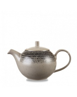 Dzbanek do herbaty 426 ml - CHURCHILL Homespun Style Charcoal Black