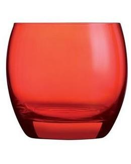 Szklanka niska 320 ml czerwona ARCOROC Salto