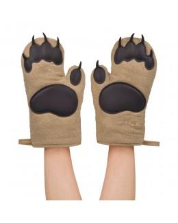 Rękawice kuchenne Niedźwiedzie Łapy - Fred