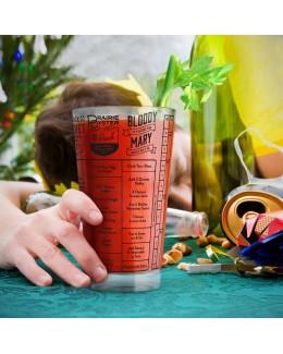 Szklanka do drinków z przepisami Hangover Good Measure - Fred