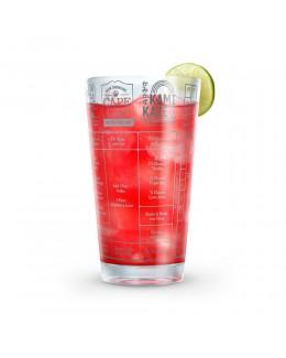 Szklanka z przepisami do wódki Good Measure - Fred