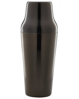 Shaker francuski 2-elementowy 700 ml Gun Metal Black - GenWare