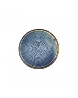 Talerz prezentacyjny 180 mm Terra Porcelain Aqua Blue GenWare