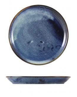 Talerz coupe 240 mm Terra Porcelain Aqua Blue GenWare